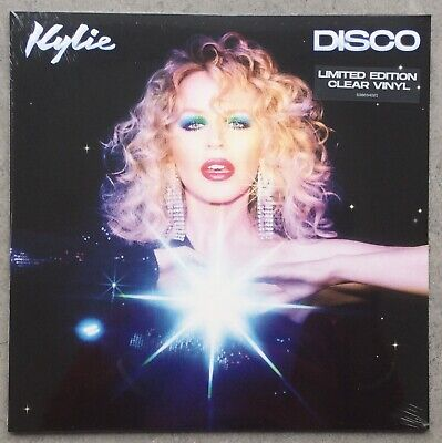 KYLIE- DISCO ALBUM - CLEAR VINYL LIMITED EDITION, Sealed & Picture Print