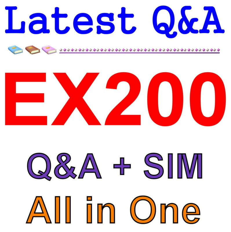 Red Hat Certified System Administrator (RHCSA) EX200 Exam Q&A PDF