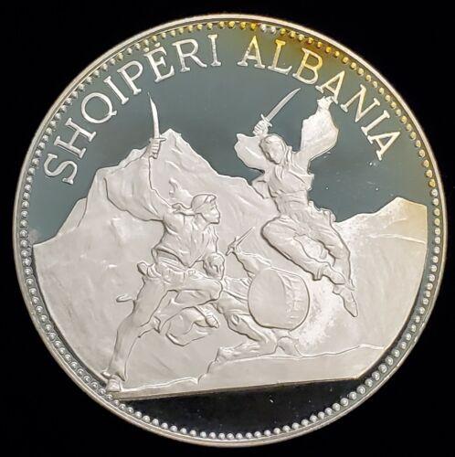 1970 Albania 25 Leke Silver Proof Coin