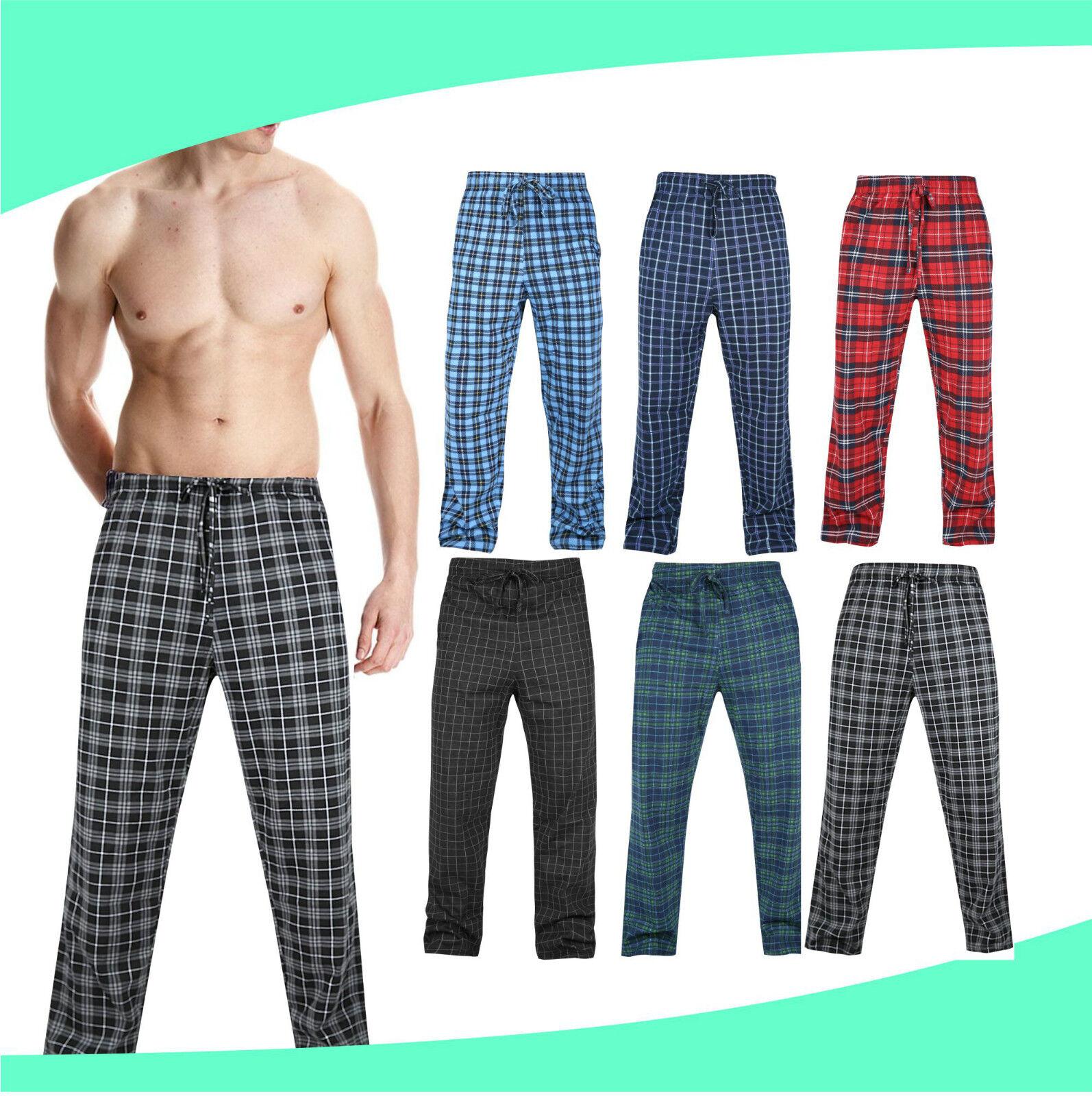 Sesto Senso/® Pantaloni del Pigiama Lunghi Morbido da Uomo
