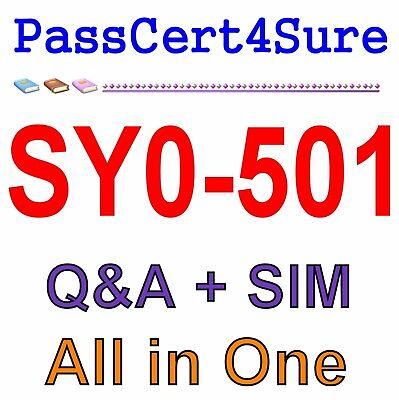 Comptia Security  Sy0 501 Exam Q A Sim
