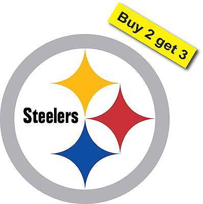 Pittsburgh Steelers Football Car Truck Sticker Decal Pa Corn Hole FREE SHIP P6