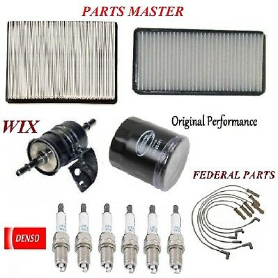 Tune Up Kit Filters Wire Spark Plugs For CHEVROLET VENTURE V6 3.4L 2003