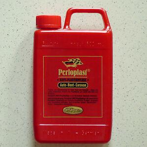 Perloplast Plastikpflege Kunststoffpflege Auto, Boot, Caravan 500ml (1L=19,80€)