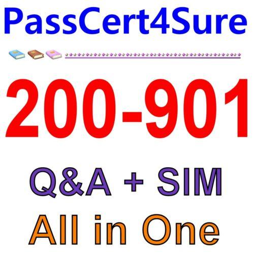 Cisco DevNet Associate (DEVASC) 200-901 Exam Q&A+SIM