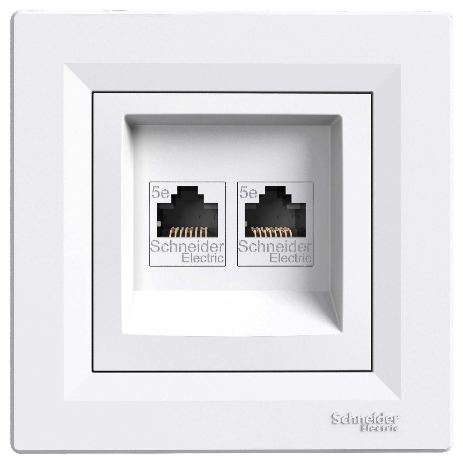 Asfora ISDN-Dose CAT5e 2xRJ45