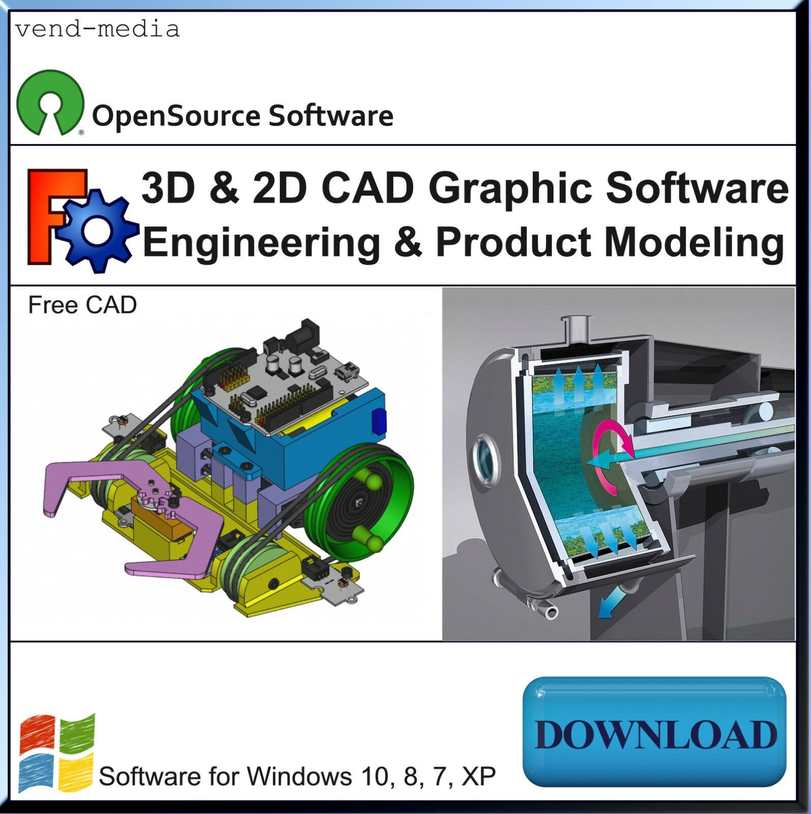 3D CAD Software, Mechanical Engineering & Product Design