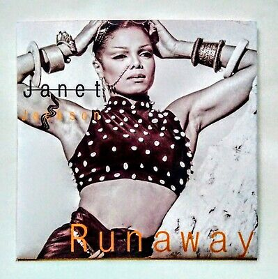 "JANET JACKSON RUNAWAY    7"" UK JUKEBOX  VINYL SINGLE WITH UNIQUE PIC SLEEVE"