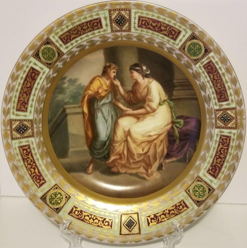 Royal Vienna Cabinet Plate Phaedra & Hippolytus RARE