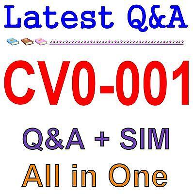 Comptia Cloud  Certification Cv0 001 Exam Q A Pdf Sim