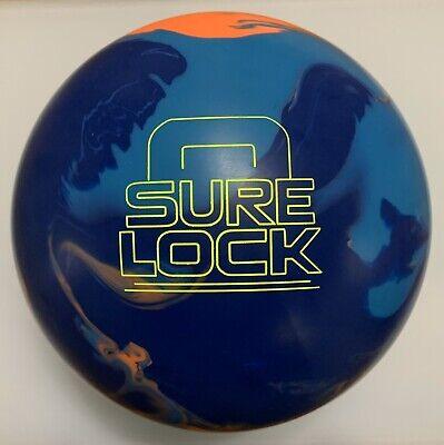 Bowling Pin Weight (15lbs Storm Sure Lock Bowling Ball: 15lbs 4oz, Top Weight 2.5 oz, Pin:)