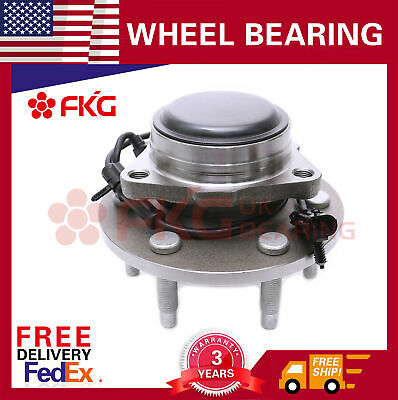 Front Wheel Hub Bearing Assembly 6 Lug For Chevy Sierra GMC Silverado 2WD 515054