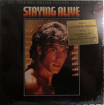 Staying Alive (Soundtrack) Bee Gees,Frank Stallone,Cynthia Rhodes,T.Faragher (ss