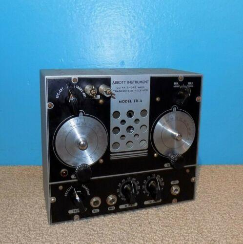 Abbott Instrument TR-4 Ultra Short Wave Transmitter-Receiver Free Shipping