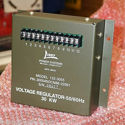 Military Mep-805a 30kw Generator Voltage Regulator 122-3055 6110-01-374-0836 Tqg