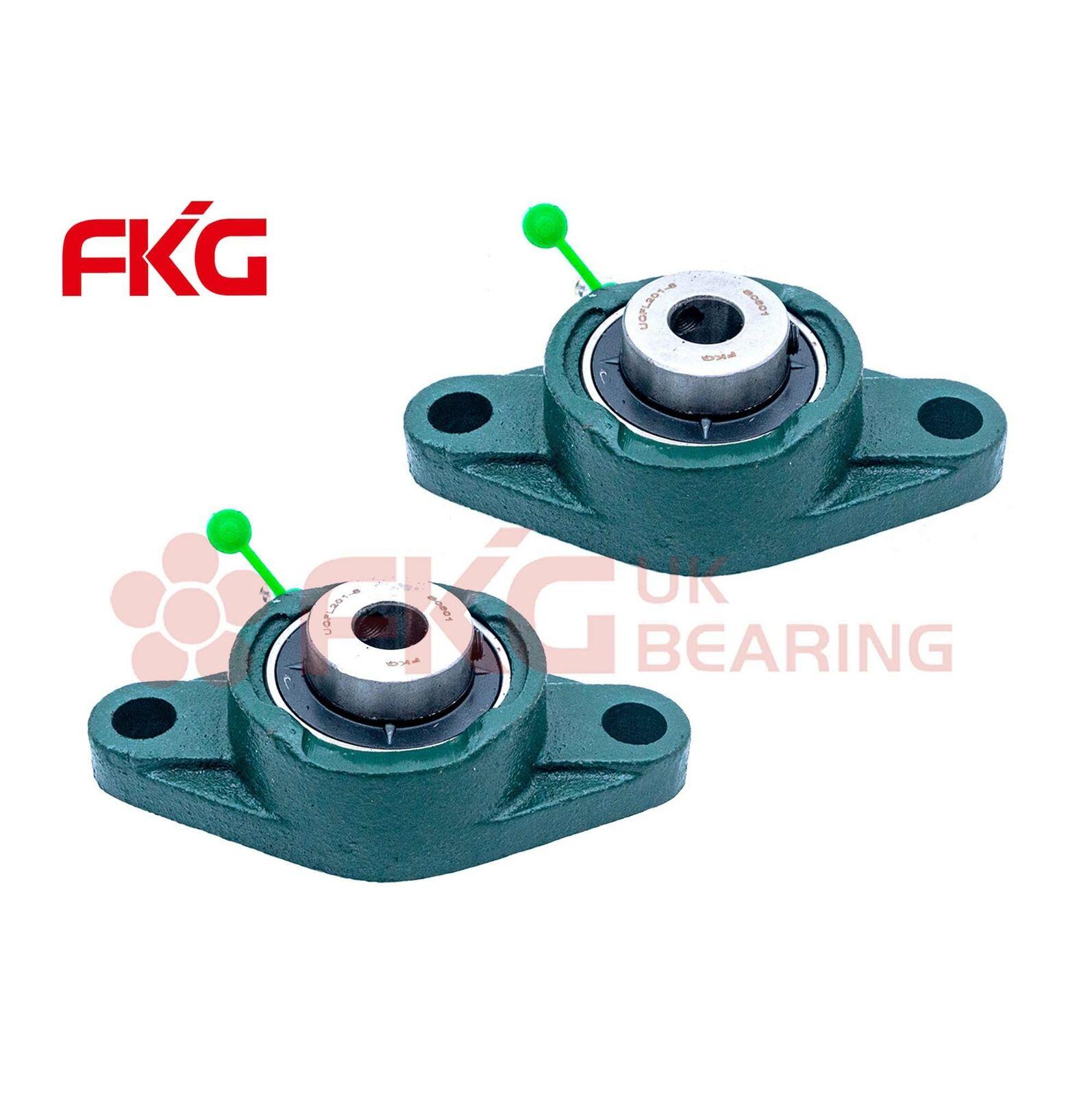 FKG UCFL202-10 Pillow Block Flange Bearing 5//8 inch Bore