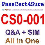 CompTIA Cybersecurity Analyst CSA+ CS0-001 Exam Q&A+SIM