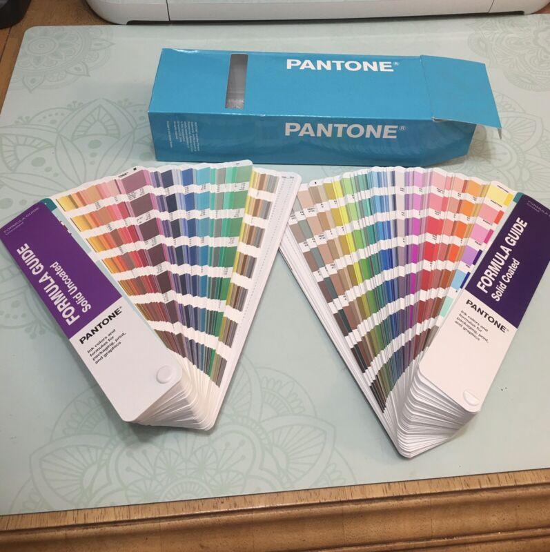 Pantone Plus Series GP1601N Solid Coated/Uncoated Formula Guide