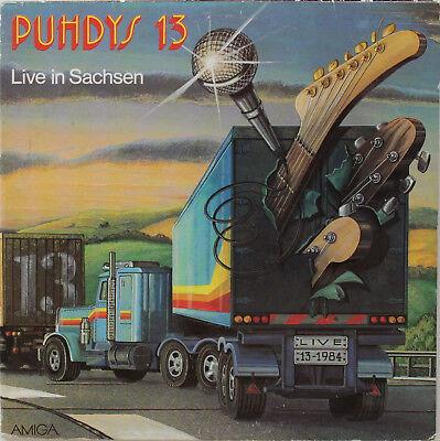 Die Puhdys - 13 - Live in Sachsen   Vinyl 2 LP Amiga