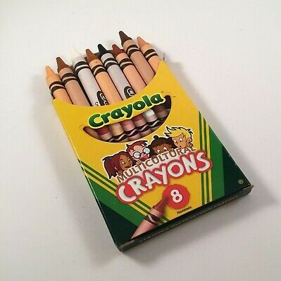 Crayola Multicultural Crayons, 8 Skin Tone Colors - Crayola Multicultural Crayons