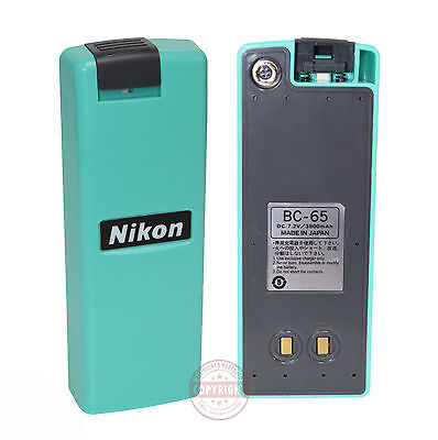 Bc-65 Battery For Nikon Total Station Surveying Bc65 Dtmnplnprq75e