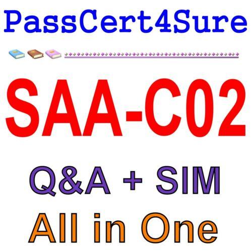 AWS Solution Architect Associate SAA-C02 Exam Q&A+SIM