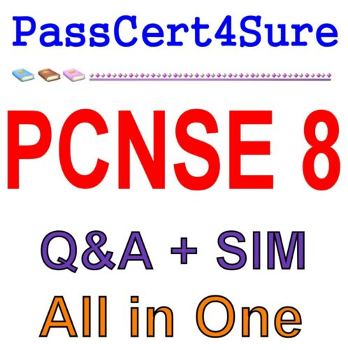 Palo Alto Networks Certified Security Engineer PAN-OS 8.0 PCNSE 8 Exam Q&A+SIM