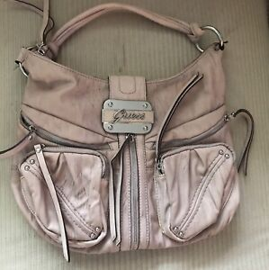 Guess Pink Hobo Purse