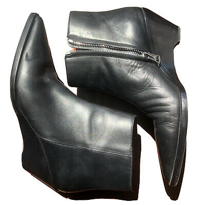ACNE STUDIOS | CONY ANKLE BOOTS | BLACK | SIZE 40 | US 9
