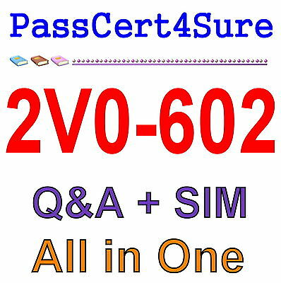 VMWare vSphere 6.5 Foundations 2V0-602 Exam Q&A+SIM