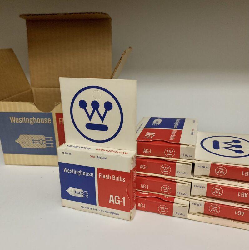 Partial case (10 packs) Westinghouse Camera Flash Bulbs AG-1 Vintage