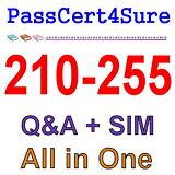Cisco Best Exam Practice Material For 210-255 Exam Q&A+SIM