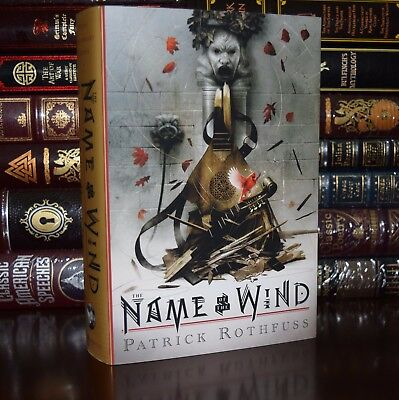 The Name of the Wind by Patrick Rothfuss 10th Anniversary Deluxe Hardcover Gift