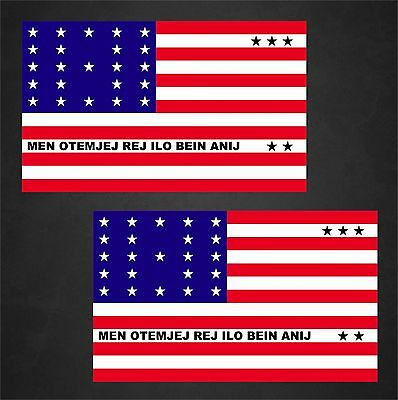 Home Decorators Jobs 2 Bikini Atoll Flag Decals Stickers
