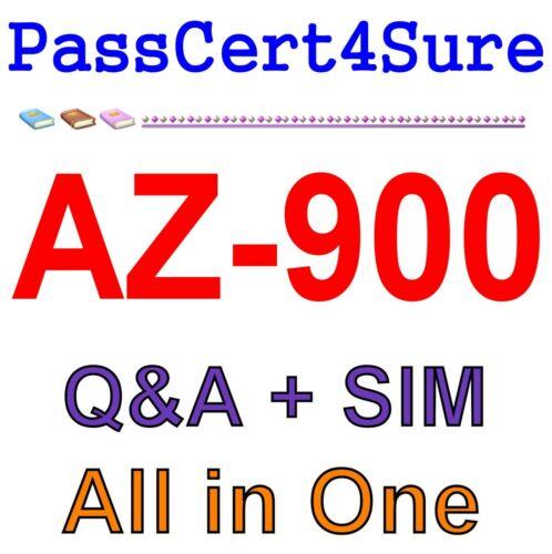 Best Exam Practice Material AZ-900 Exam Q&A+SIM