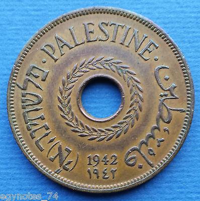 PALESTINE , 20 MILS 1942 UNC ( SU-R7 ) , RARE