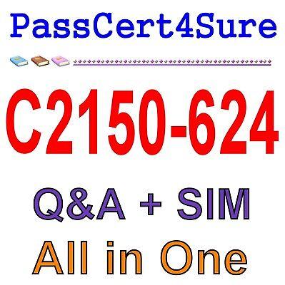 IBM Best Exam Practice Material for C2150-624 Exam Q&A PDF+SIM for sale  Findlay