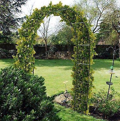 2.4M Garden Arch Rose Climbing Plants Garden Ornament WARCH