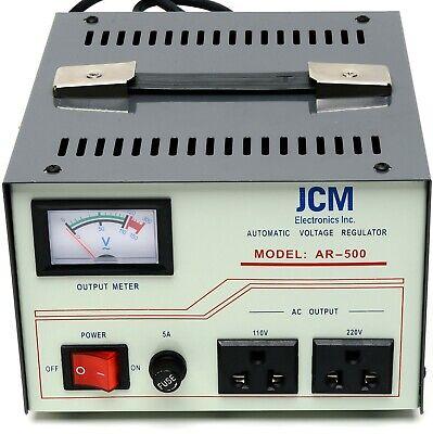 500w 110v 220v Voltage Converter Transformer Step Up Down Regulator Stabilizer