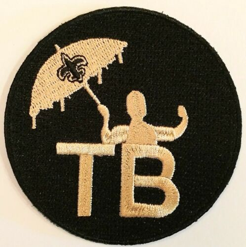 2018 Tom Benson Memorial Jersey Patch - New Orleans Saints - TB