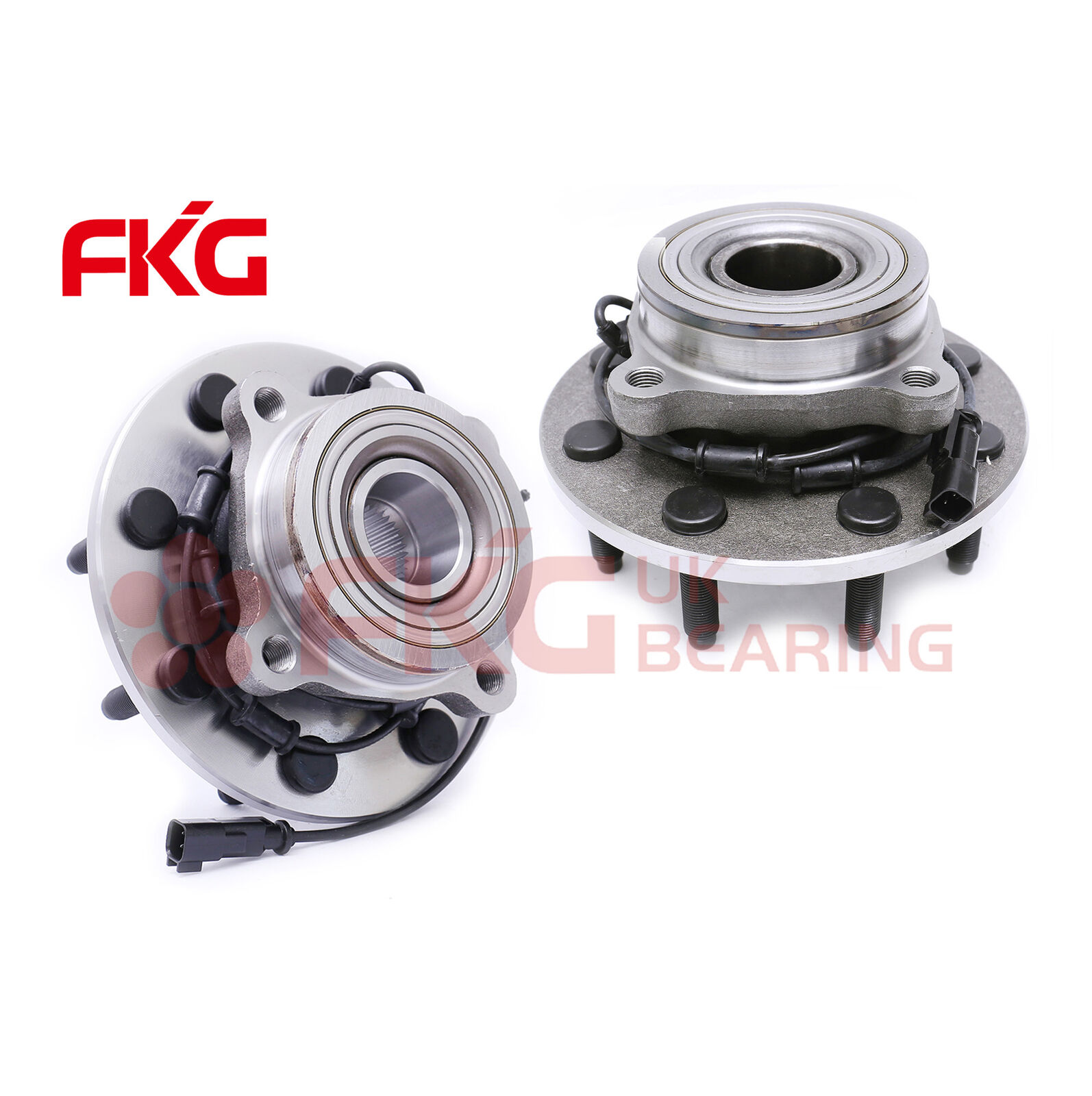3500 8lugs w//ABS 2500 PAROD 515101 4X4 4WD Front Wheel Hub /& Bearing Assembly Compatible with 2006-2008 Dodge Ram 1500