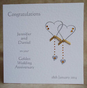 Handmade-Personalised-Wedding-Anniversary-Card-25th-40th-45th-50th-55th-60th