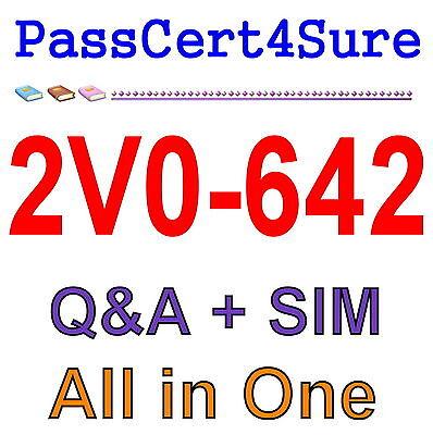VMware Certified Professional 6 - Network Virtualization 2V0-642 Exam Q&A+SIM