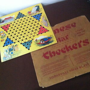 1940s/50s CHINESE CHECKERS Somerville Game