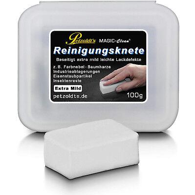 Petzoldt's weiße Profi-Reinigungsknete MAGIC-Clean, extra milde Lackreinigung