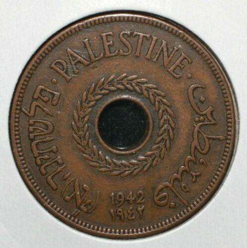1942 Palestine 20 Mils Coin - 04623