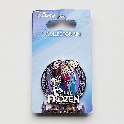 Disney - Frozen Group - Elsa Anna Olaf Kristoff Collector Pin S2515A