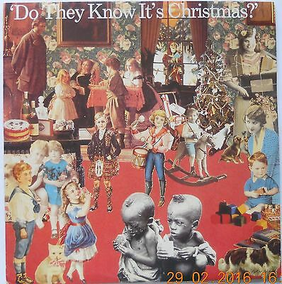 "BAND AID Do They Know It's Christmas? 1985 UK vinyl 12"" SINGLE EXCELLENT CONDITI"