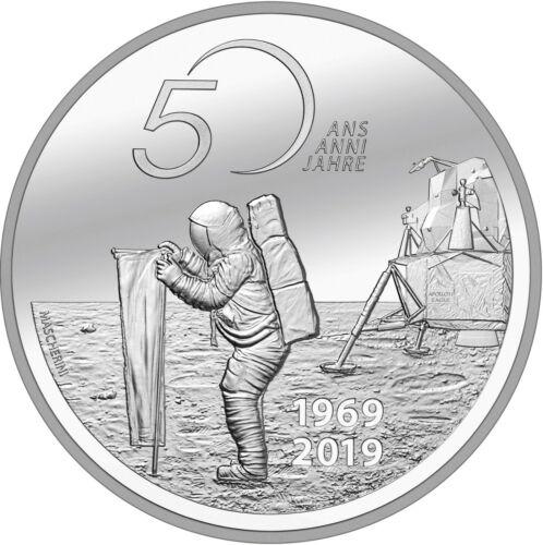 Schweiz 20 Franken 2019 Mondlandung Neil Armstrong Apollo 11 im Jahr 1969