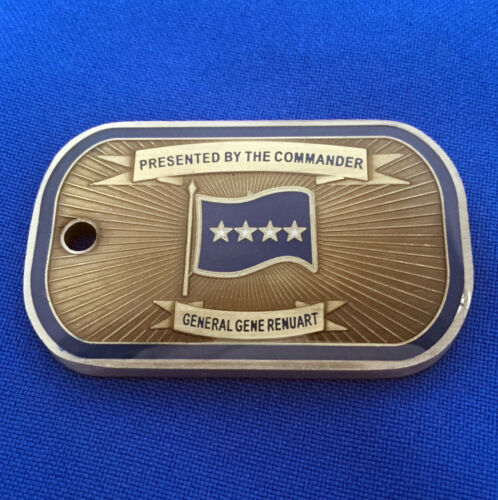US Northern Command Air Force General Gene Renuart USNORTHCOM Challenge Coin
